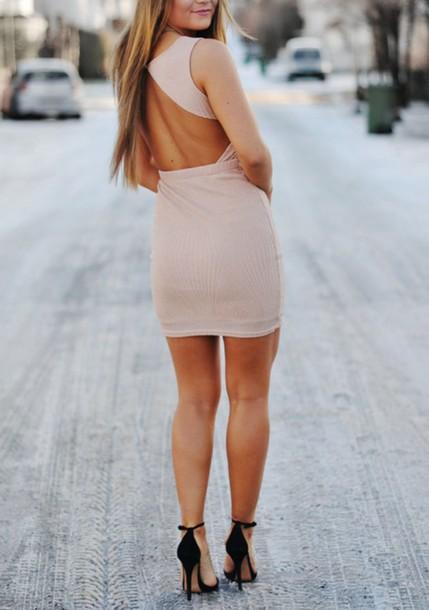 dress beige light