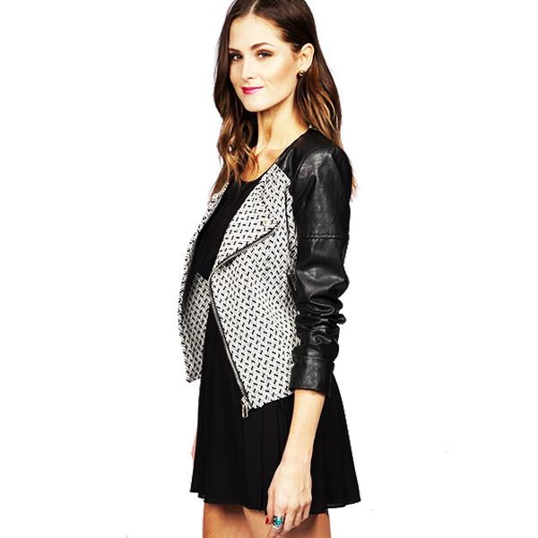 Michelle Moto Jacket | Vanity Row