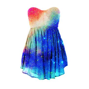 Galaxy dress - Dress - galaxy: Galaxy Dress by Ω Tattoo Girls Ω