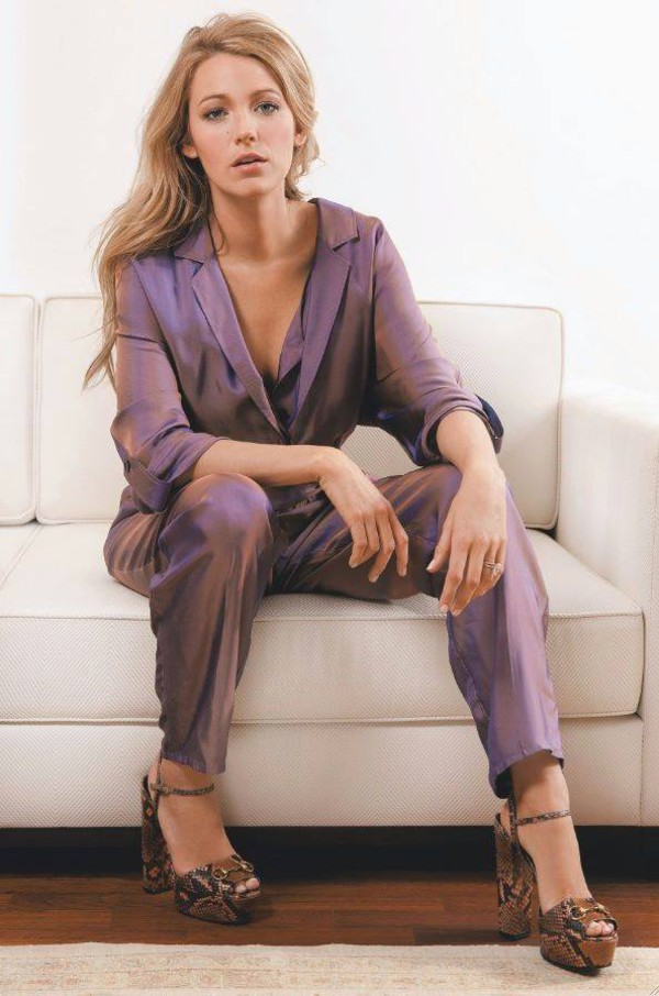 jumpsuit blake lively shoes
