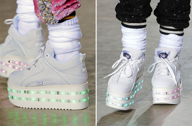 Ashish's Light-Up Platform Sneakers Are Coming to a Topshop Near You | Fashionista