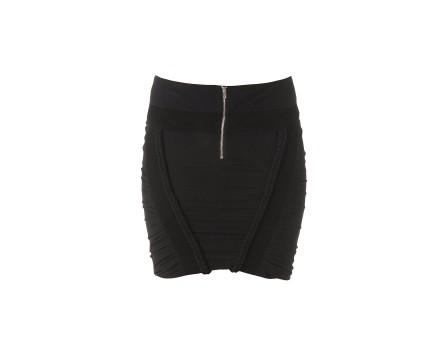 Cliford skirt - Clingy stretch skirt made of silk - Black - Skirts - Women - IRO