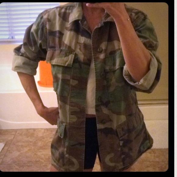 19% off  Jackets & Blazers - Camo  Camouflage Army Jacket from Exalt's closet on Poshmark