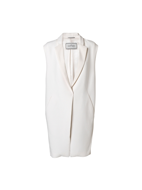 Tanwa oversized gilet - By Malene Birger