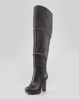 UGG Australia   Dreaux High Heel Knee Boot, Black - CUSP