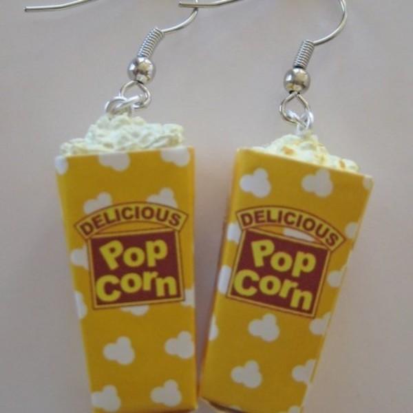jewels pop corn earings