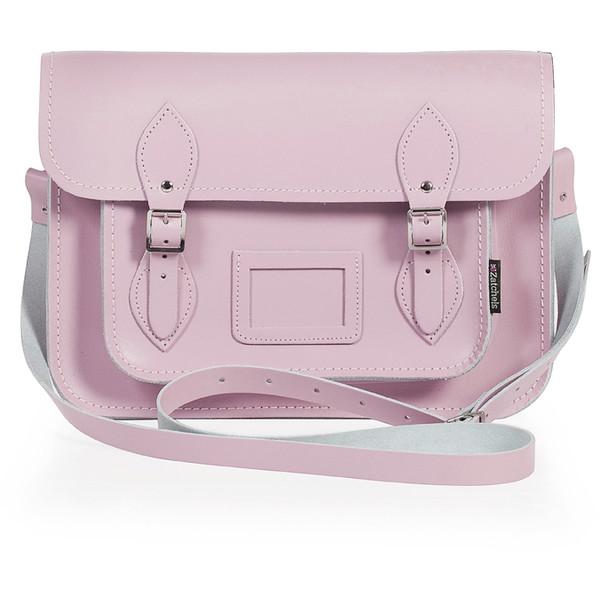 Zatchels Bag Satchel Pink - Polyvore