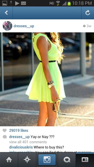 dress light green summer dress lime chic muse flowy cute dress