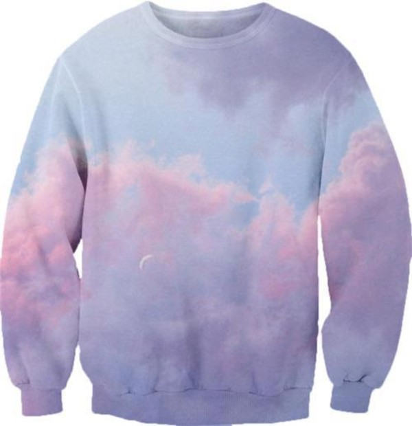 sweater sky hipster