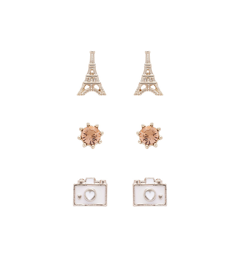 Snapshot From Paris Stud Set Buy Dresses, Tops, Pants, Denim, Handbags, Shoes and Accessories Online Buy Dresses, Tops, Pants, Denim, Handbags, Shoes and Accessories Online