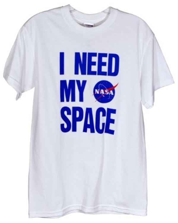 sweater nasa space white t-shirt