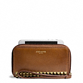 Coach :: LEGACY EAST/WEST UNIVERSAL CASE IN STUDDED LEATHER