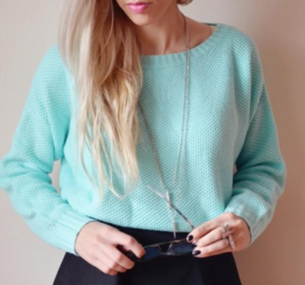 sweater mint winter sweater warm sweater warm