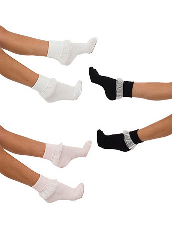Lacey Kids Sock (3-Pack) | American Apparel
