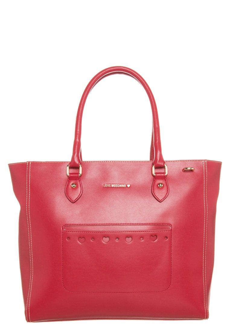 Love Moschino Shopping Bag - red/ivory - Zalando.de