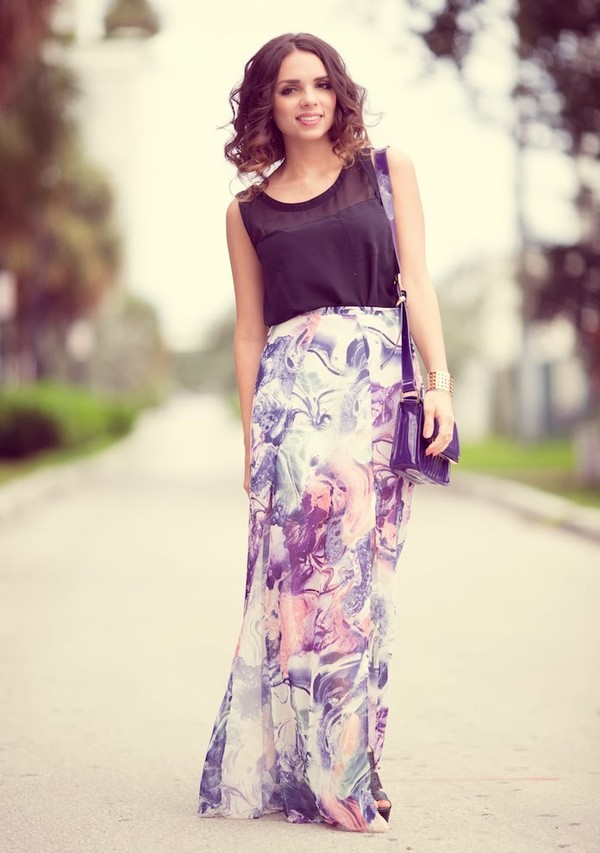nany's klozet skirt shirt shoes bag jewels