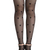 ROMWE | Jacquard hearts Black Tights, The Latest Street Fashion