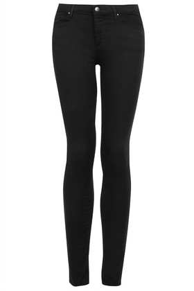 MOTO Black Leigh Jeans - Leigh Skinny Jeans - Jeans  - Clothing - Topshop