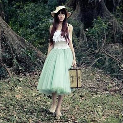 Lovely Skirt, Tulle Skirt 2014, Summer Skirts, Women Skirt on Luulla