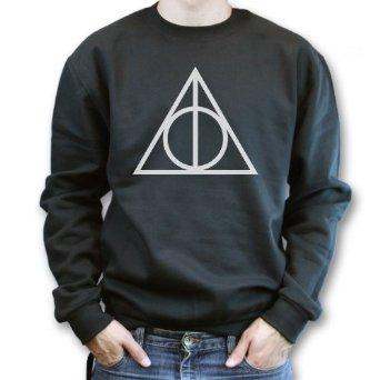 Deathly Hallows Symbol Voldemort Harry Potter Sweater Sweatshirt Jumper: Amazon.co.uk: Clothing