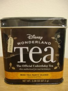 """DISNEY PARKS EXCLUSIVE """"Wonderland Official Unbirthday """"Mad Tea Party Blend"""" Loose Leaf Tea: Amazon.com: Grocery & Gourmet Food"""