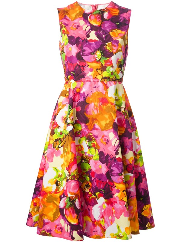 dress Valentino floral dress