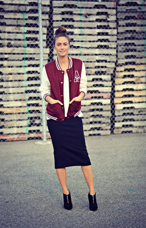 quality rivets jacket t-shirt skirt shoes