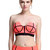 ROMWE | Dual-tone Orange Bandeau Set, The Latest Street Fashion