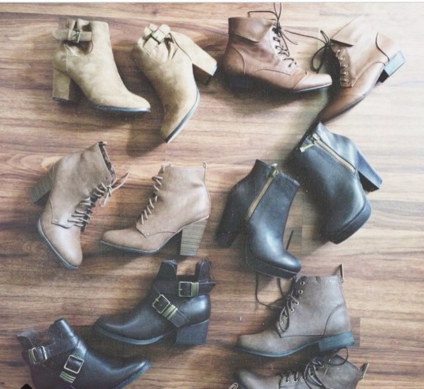 shoes brown boots boots style