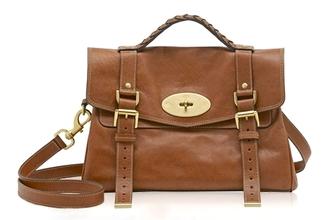 satchel mulberry brown bag bag