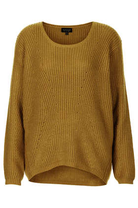Knitted Clean Rib Jumper - Topshop