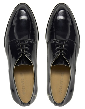 Whistles | Whistles Derby Lace Up Flat Shoes at ASOS