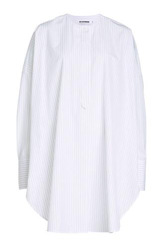 shirt cotton stripes top