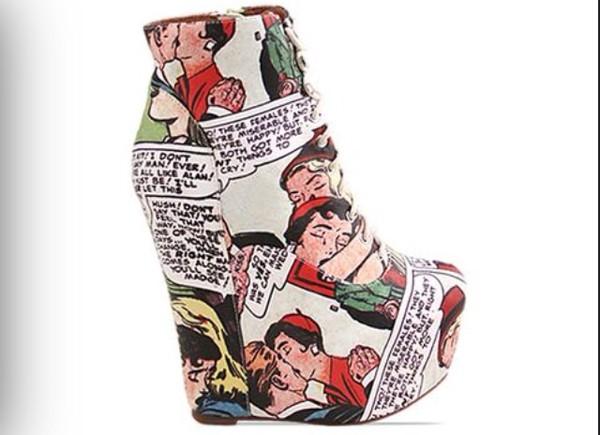 shoes newsprint newspaper