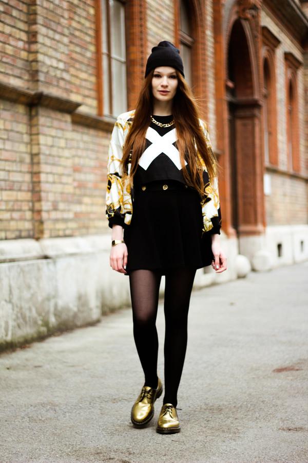 a pretty pass belt skirt shoes shirt jewels hat jacket