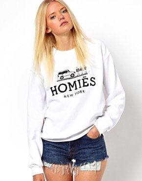 Reason Homies Sweatshirt at asos.com on Wanelo