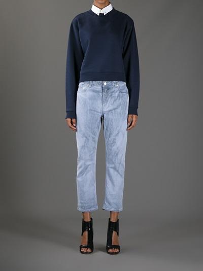 Acne 'bird' Sweatshirt - Voo - Farfetch.com