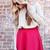 Old School Skater Skirt - Burgundy - UOIONLINE.COM