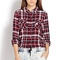 No-fuss plaid shirt | forever21 - 2000064310