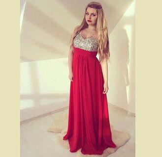 dress red maxi dress strass glitter glitter dress strass paillettes l strass dress