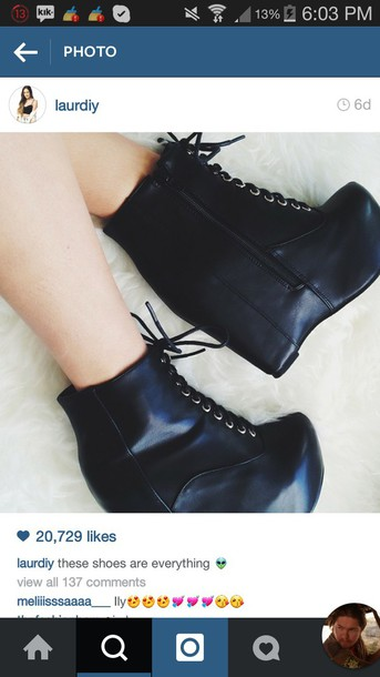 shoes black booties lace up ankle boots heels