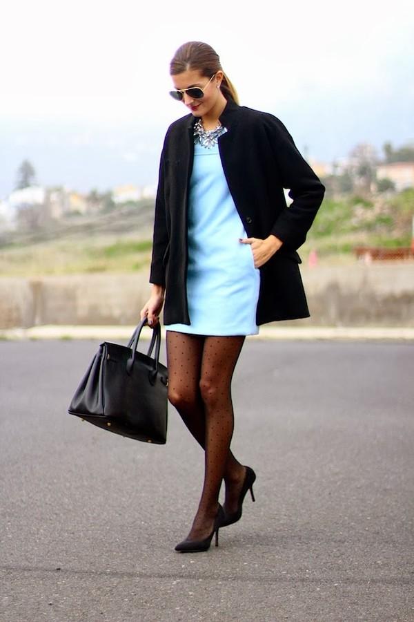 marilyn's closet blog dress coat bag shoes jewels