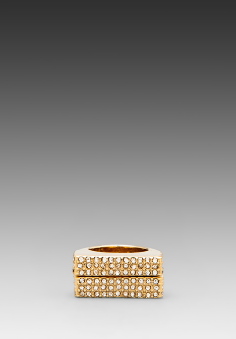 CC SKYE Soulmate Rings in Gold at Revolve Clothing - Free Shipping!