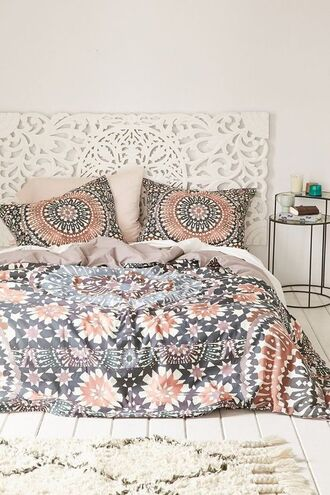 home accessory magical thinking boho decor bedding bedroom print mandala urban outfitters