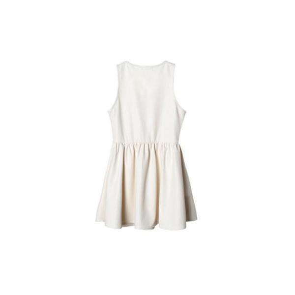 Autumn Leathery Dress - Polyvore