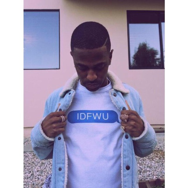shirt idfwu big sean t-shirt