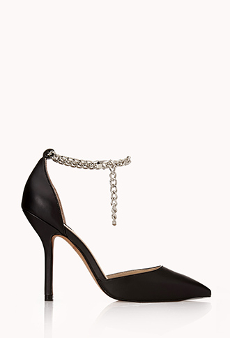 Street-Chic Faux Leather Pumps   FOREVER21 - 2040495573