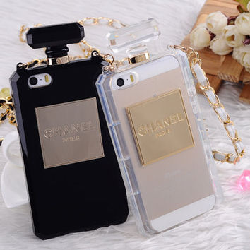 chanel no.5 perfume iphone case 5 5s TPU plastic case cover collection vintage samsung note on Wanelo
