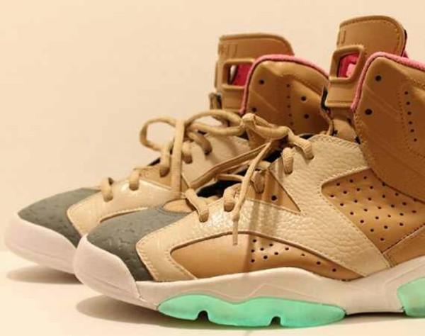 shoes jordans kicks with chicks gold tomboy b-girl