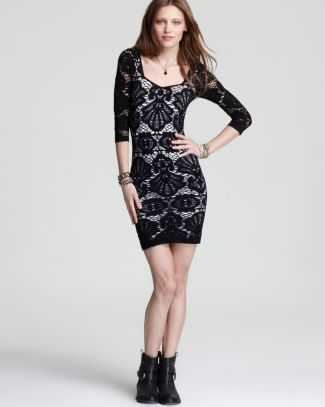 Free People Dress - Seamless Medallion Lace | Bloomingdale's
